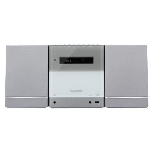【中古】オーディオプレイヤー・コンポ KENWOOD システムコンポ (シルバー) [C-333-S]