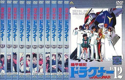 【中古】アニメ レンタルアップDVD 機甲戦記ドラグナー 単巻全12巻セット