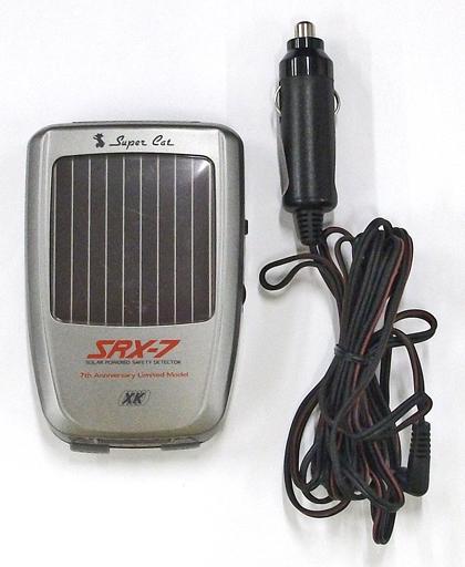 ユピテル 高感度コードレスレーダー探知機 SUPER CAT [SRX-7] (状態:本体・説明書・シガープラグのみ)