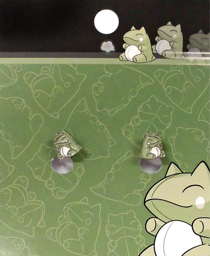 【中古】銀製品・指輪・アクセサリー(キャラクター) みがわり ノンホールピアス 「ポケットモンスター」 ポケモンセンター限定
