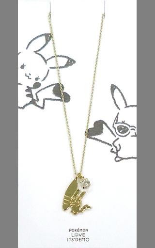 【中古】銀製品・指輪・アクセサリー(キャラクター) ピカチュウ(サーフ) ネックレス 「ポケットモンスター×ITS' DEMO」