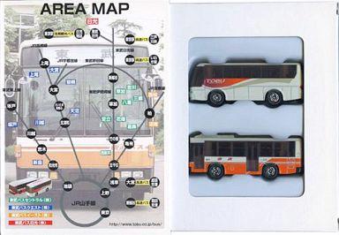 "Tobu Bus (2 sets) ""Tomica Japan National Bus Tour"" Vol.1 [652038]"