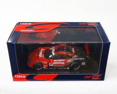 【中古】ミニカー 1/43 MOTUL AUTECH GT-R BRIDGESTONE #22(レッド×シルバー) 「オートバックス SUPER GT500 2008シリーズ」 [44043]