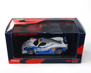 【中古】ミニカー 1/43 WILLCOM ADVAN VENAC 408R TOPia #62(ホワイト×ブルー) 「オートバックス SUPER GT300 2008シリーズ」 [44067]