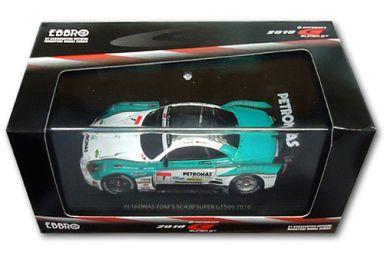 【中古】ミニカー 1/43 PETRONAS TOM'S SC430 BRIDGESTONE #1(ホワイト×グリーン×シルバー) 「オートバックス SUPER GT500 2010シリーズ」 [44331]