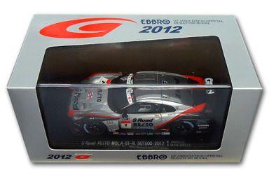 【中古】ミニカー 1/43 S Road REITO MOLA GT-R SUPER GT500 2012 MICHELIN #1(シルバー×ブラック) 「オートバックス SUPER GT 2012シリーズ」 [44733]