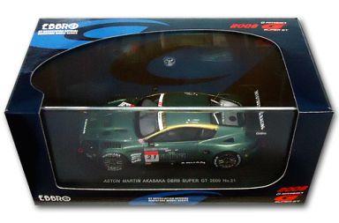 【中古】ミニカー 1/43 ASTON MARTIN AKASAKA DBR9 ADVAN #21(グリーン) 「オートバックス SUPER GT2009シリーズ」 [44366]