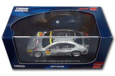 【中古】ミニカー 1/43 R&D SPORT LEGACY B4 ADVAN #62(シルバー) 「オートバックス SUPER GT300 2009シリーズ」 [44301]