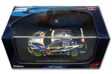 【中古】ミニカー 1/43 WedsSport IS350 ADVAN #19(ブルー×イエロー) 「オートバックス SUPER GT300 2009シリーズ」 [44223]