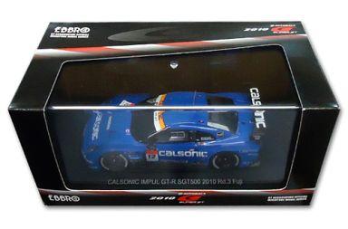 【中古】ミニカー 1/43 CALSONIC IMPUL GT-R Rd.3 Fuji LAWSON #12(ブルー) 「オートバックス SUPER GT500 2010シリーズ」 [44443]