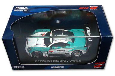【中古】ミニカー 1/43 PETRONAS TOM'S SC430 HOUMEI #36(ホワイト×グリーン) 「オートバックス SUPER GT500 2009シリーズ」 [44181]