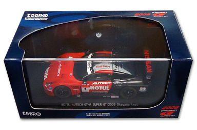 【中古】ミニカー 1/43 MOTUL AUTECH GT-R Okayama test POTENZA #1(レッド×ブラック) 「オートバックス SUPER GT500 2009シリーズ」 [44171]