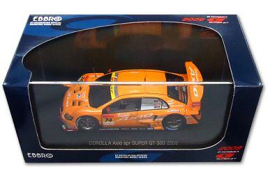【中古】ミニカー 1/43 CAROLLA Axio apr SUPER GT 300 2009 HASEPRO #74(オレンジ) 「オートバックス SUPER GT 2009シリーズ」 [44229]