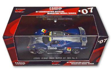 【中古】ミニカー 1/43 EBBRO VEMAC 350R TAMIYA #4(ブルー×シルバー) 「オートバックス SUPER GT300 2007シリーズ」 [43903]