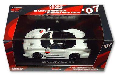【中古】ミニカー 1/43 NSX TEST CAR BRIDGESTONE #99(ホワイト) 「オートバックス SUPER GT500 2007シリーズ」 [43922]