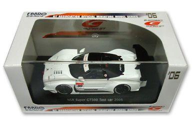 【中古】ミニカー 1/43 HONDA NSX TESTCAR SUPER GT 2006 BRIDGESTONE #99(ホワイト) 「オートバックス SUPER GT 2006シリーズ」 [43798]
