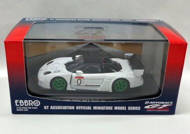 【中古】ミニカー 1/43 NSX テストカー JGTC2004 BRIDGESTONE #0(ホワイト) 「オートバックス GT 2004シリーズ」 [43580]