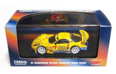 【中古】ミニカー 1/43 AMEMIYA ASPARADRINK RX7 ADVAN #7(イエロー) 「オートバックス SUPER GT 2005シリーズ」 [43731]