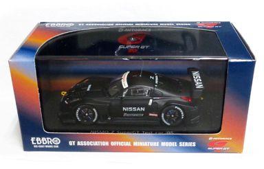 【中古】ミニカー 1/43 NISMO Z TEST CAR MOTUL(ブラック) 「オートバックス SUPER GT 2005シリーズ」 [43718]