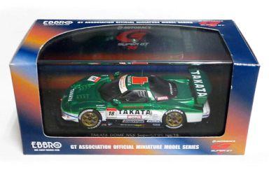 【中古】ミニカー 1/43 TAKATA DOME NSX MOTUL #18(グリーン×ホワイト) 「オートバックス SUPER GT 2005シリーズ」 [43690]