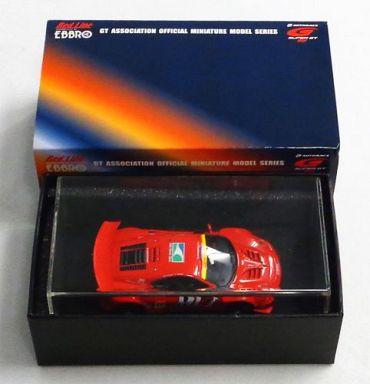 【中古】ミニカー 1/43 JIM GAINER FERRARI DUNLOP Bell Hand Club #11(レッド) 「オートバックス SUPER GT 300 2005シリーズ」 [43744]