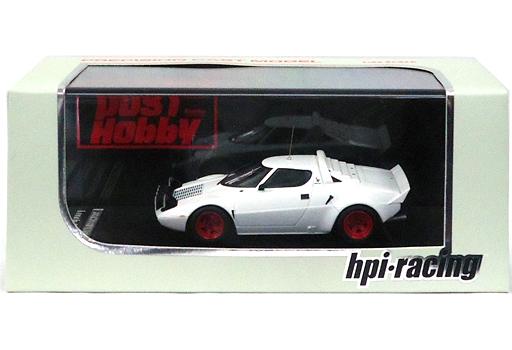 【中古】ミニカー 1/43 ランチア ストラトス HF (プレーンカラーモデル:ホワイト) [PS009]