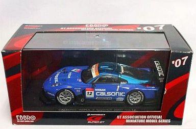 【中古】ミニカー 1/43 カルソニック インパルZ スーパーGT500 2007 BRIDGESTONE #12(ブルー) 「オートバックス SUPER GT 2007シリーズ」 [43915]