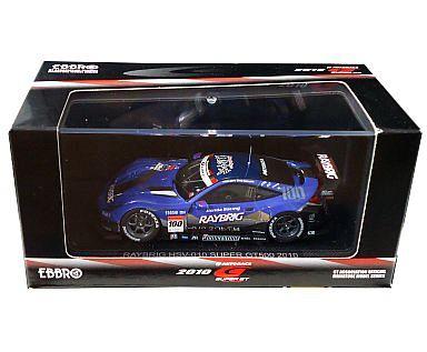 【中古】ミニカー 1/43 レイブリック HSV-010 SUPER GT500 BRIDGESTONE #100(パープル×シルバー) 「オートバックス SUPER GT 2010シリーズ」 [44328]