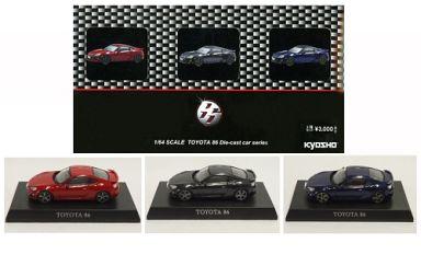 【中古】ミニカー 1/64 トヨタ 86 限定カラー3台セット サークルKサンクス&カルワザオンライン限定