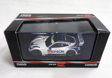 【中古】ミニカー 1/43 エプソン HSV-010 スーパーGT500 2010 #32(ホワイト×ブルー) 「オートバックス SUPER GT 2010シリーズ」 [44329]