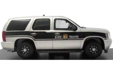【中古】ミニカー 1/43 2011 シボレータホ ノースカロライナ州警察 [FR-TAH-138]