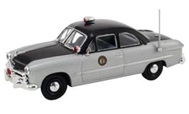 【中古】ミニカー 1/43 1949 フォード 2ドア ノースカロライナ州ハイウェイパトロール [FR-FRD-105]
