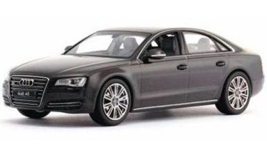 【予約】ミニカー 1/43 Audi A8 2011 (Smaragd Black Metallic) [K03811SBK]