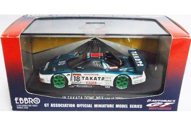 【中古】ミニカー 1/43 TAKATA DOME NSX #18 (グリーン×ホワイト) 「オートバックス GT 2004シリーズ」 [43576]