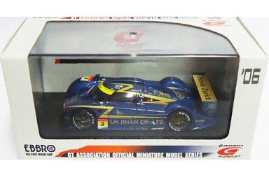 【中古】ミニカー 1/43 I.Mジハン CO.LTD アップル シデン スーパーGT 2006 マレーシア #2 (ダークブルー×ゴールド) 「オートバックス SUPER GT 2006シリーズ」 [43884]