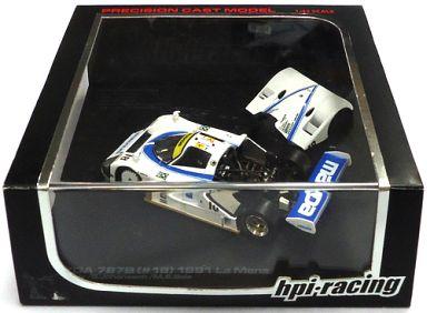 【中古】ミニカー 1/43 マツダ 787B (#18) 1991 Le Mans (ホワイト) [8038]