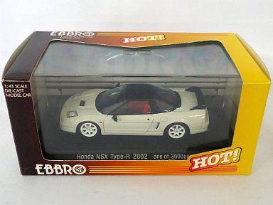 EBBRO 1/43 <中古品> ホワイト NSX Type R 2002 ホンダ