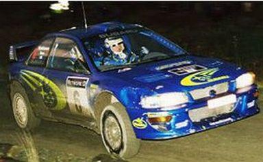 【中古】ミニカー 1/43 Subaru Impreza WRC'99 #6 1999 Great Britain [8601]