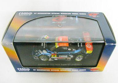 【中古】ミニカー 1/43 M-TEC NSX EBBRO #0(メタリックブルー) 「オートバックス スーパーGT 2005シリーズ」 [43700]