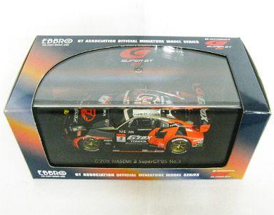【中古】ミニカー 1/43 G'ZOX ハセミ Z スープラ TOMICA #3(ブラック×レッド) 「オートバックス スーパーGT 2005シリーズ」 [43730]