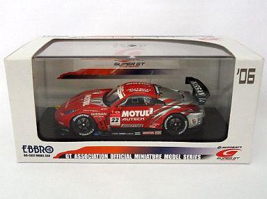 【中古】ミニカー 1/43 モチュール オーテックZ スーパーGT500 2006 #22(レッド×シルバー) 「オートバックス SUPER GT 2006シリーズ」 [43795]