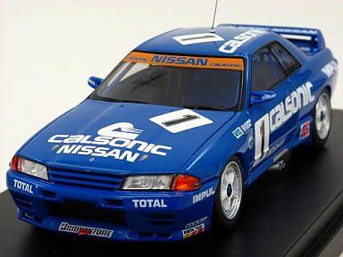 【中古】ミニカー 1/43 カルソニック スカイライン 1991 JTC No.1 [8086]