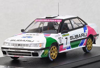 【中古】ミニカー 1/43 スバル レガシィRS 1992 Swedish C.マクレー No.7 [8185]