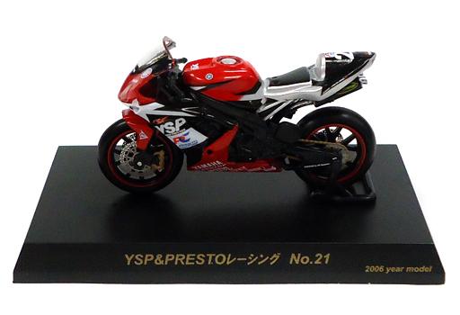 【中古】ミニカー YAMAHA YZF-R1 #21(レッド×ブラック) 「1/32 2006鈴鹿8時間耐久ロードレースマシンシリーズ」 サークルK・サンクス限定
