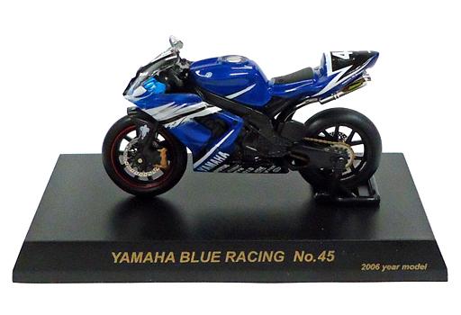 【中古】ミニカー YAMAHA YZF-R1 #45(ブルー×ブラック) 「1/32 2006鈴鹿8時間耐久ロードレースマシンシリーズ」 サークルK・サンクス限定