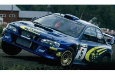 【中古】ミニカー 1/43 Subaru Impreza WRC`99 (#5) 1999 Finland [8580]