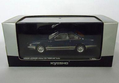 【中古】ミニカー 1/43 ニッサン レパード アルティマ V30 ツインカムターボ F31 1988(ダークブルーツートン) [03481BL]