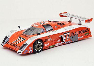 【中古】ミニカー 1/43 ドームRC83オートバックス1983 フジ1000km(レジンモデル)オレンジ/ホワイト [44477]