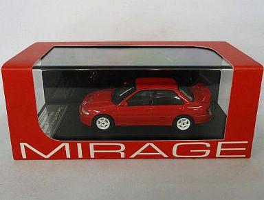 【中古】ミニカー 1/43 Mitsubishi Lancer EvolutionII Monaco Red 「MIRAGE(ダイキャストモデル)」 [8559]