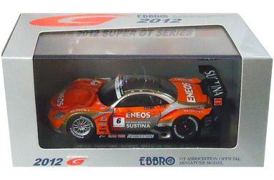 【中古】ミニカー 1/43 ENEOS SUSTINA SC430 SUPER GT500 2012 TAMIYA #6(オレンジ×シルバー) 「オートバックス SUPER GT 2012シリーズ」 [44737]
